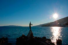 Opatija, Maiden with the Seagull